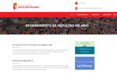 El ayuntamiento renueva su página web
